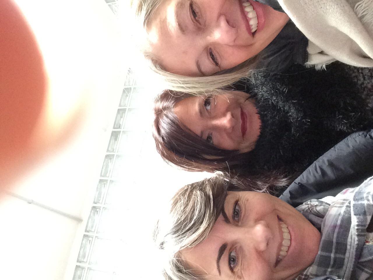 Francesca, Manuela, Cristina