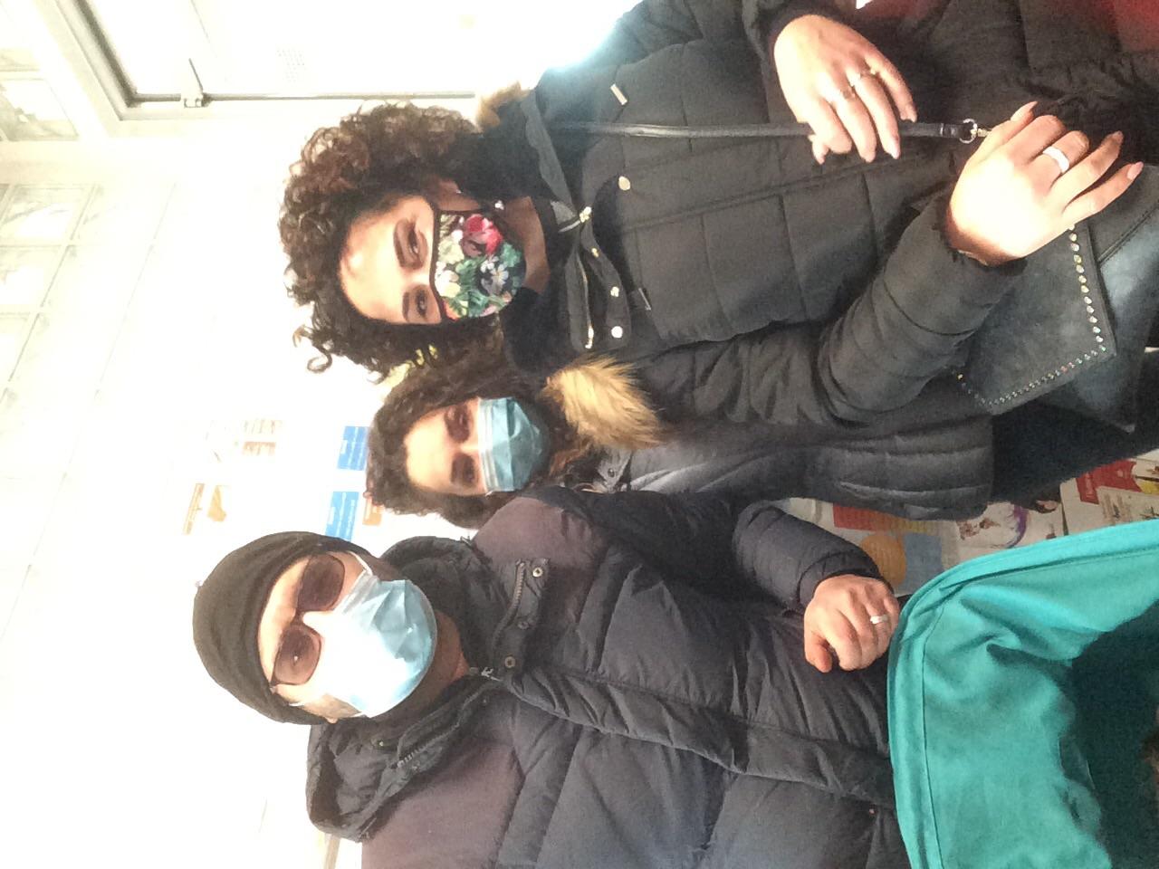 Vojsava , Giuliana , Simone e Raffaele